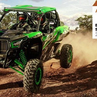 "The 2020 Teryx KRX 1000 is named ATV.com's ""Sport UTV of the Year"""