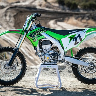 2021 KX450 wins the Cycle News 450 Shootout