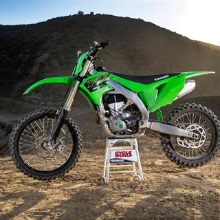 "2020 KX450 is awarded ""2020 Best Motocross Bike"" from Cycle World"
