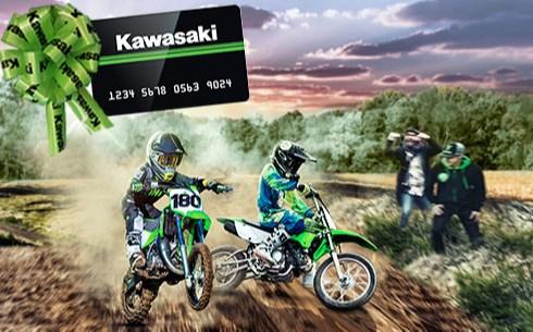 $100* KAWASAKI PREPAID CARD
