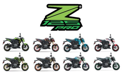 CUSTOMIZE YOUR RIDE - Z125 PRO FREE CUSTOM GRAPHIC KIT