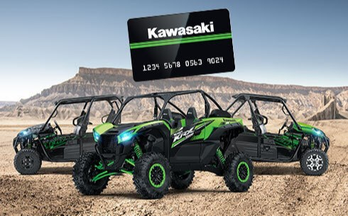 $300* KAWASAKI PREPAID CARD