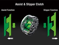 Assist and slipper clutch functions