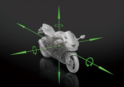 IMU-enhanced chassis orientation awareness axes