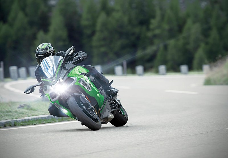 Kawasaki Cornering Management Function