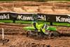 KX™85 rider racing right